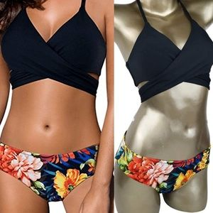 6facb2f1d020f Other - Bandage Halter Bikini Two Piece Swimsuit
